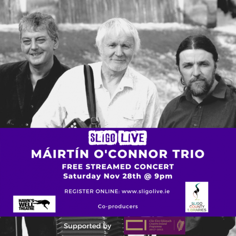The Máirtín O'Connor Trio
