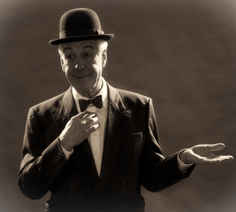 And this is my friend… Mr Laurel