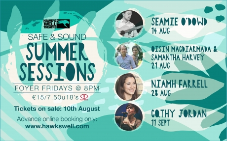 Enjoy live music again at our Safe & Sound Summer Sessions in the foyer