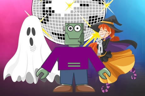 Spooky Tunes Disco for Kids