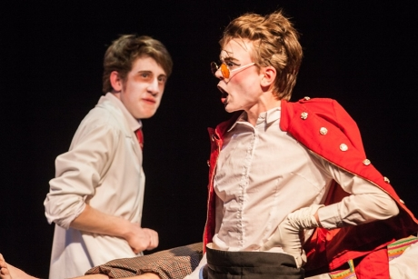 Secondary Students takeover Hawk's Well with original production 'The Ballad of Burke and Hare'