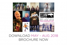 May - Aug 2018 brochure out now