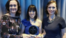 Hawk's Well wins Best Community Enterprise Award at the Sligo Business Awards